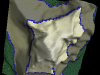 Matterhorn 3D Top View