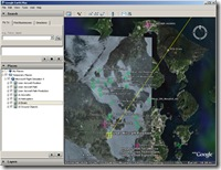 FSX Google Earth Tracker