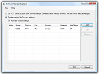 SimConnect Config Tool